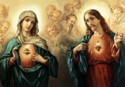 Sacred Heart and Immaculate Heart.JPG