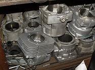 Cylinder, single, dual, 4, Rebuilt