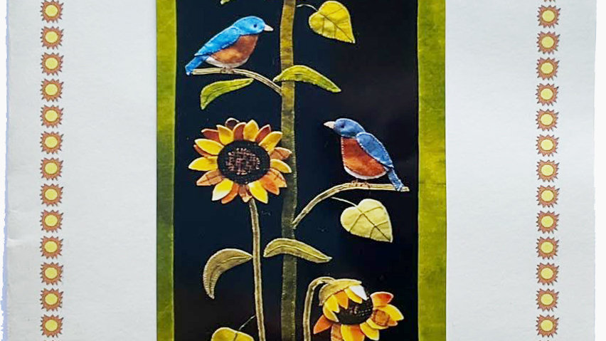 Summertime Sunflowers  Pattern