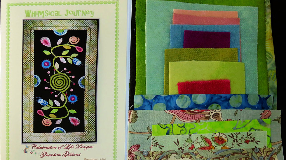 Whimsical Journey Kit and Pattern