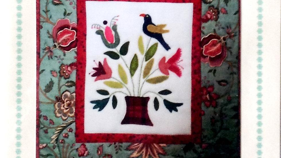 Cottage Garden Bouquet Pattern