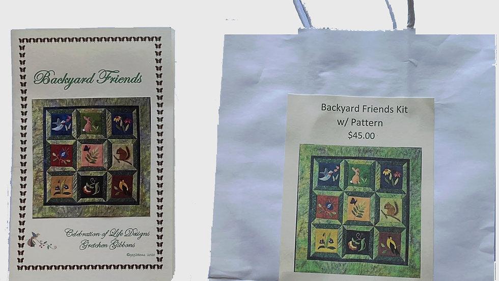 Backyard Friends Kit with Pattern