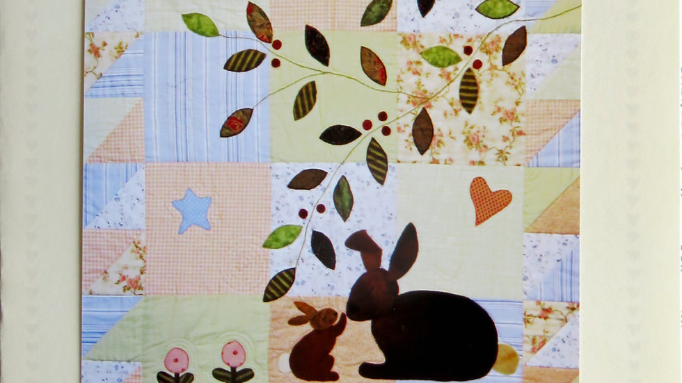 Some Bunny Loves You Pattern