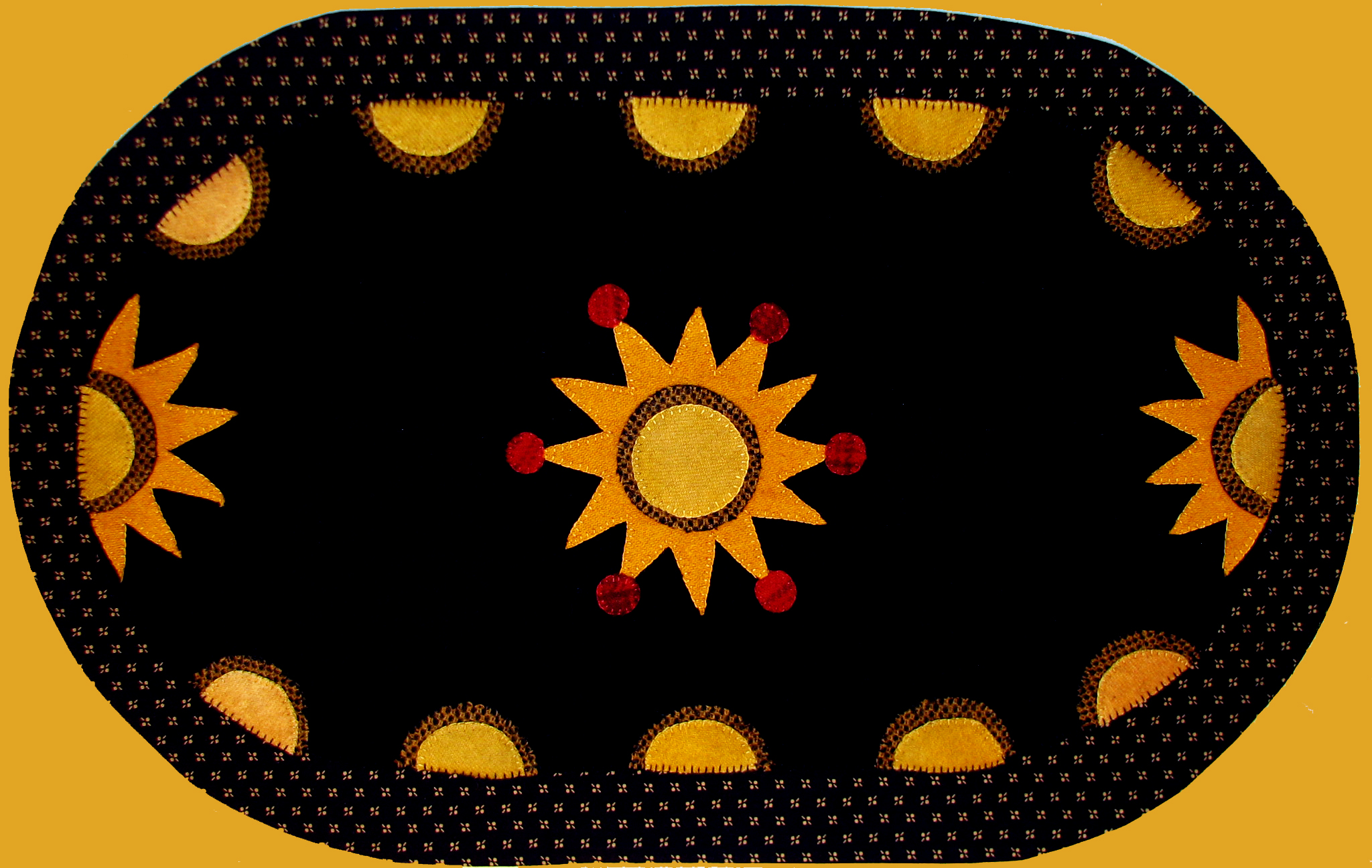 Sunburst Table Mat