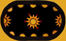 Sunburst Table Mat