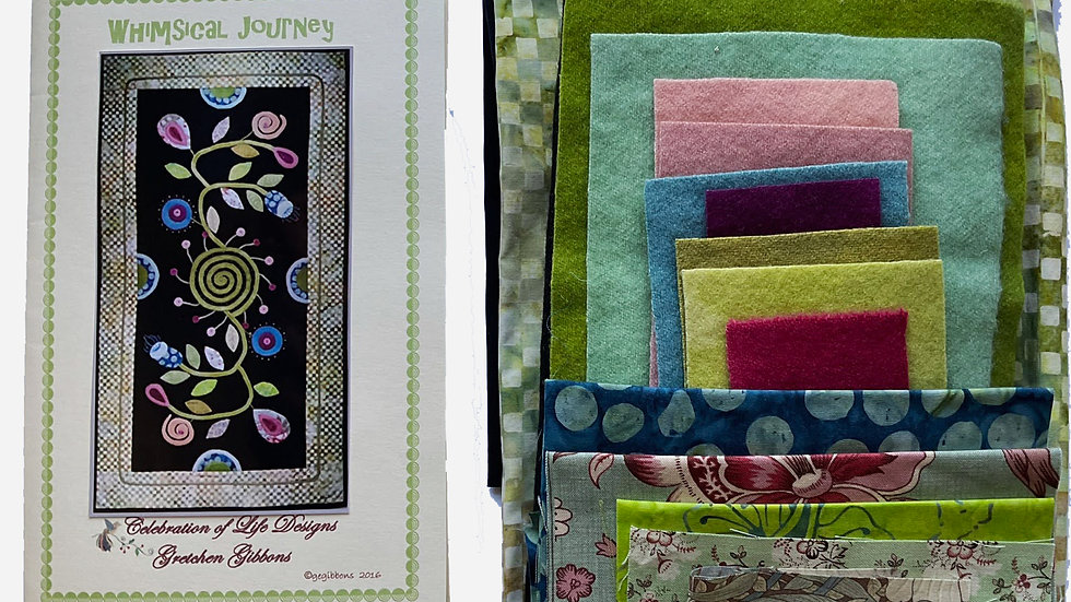Whimsical Journey Kit with Pattern