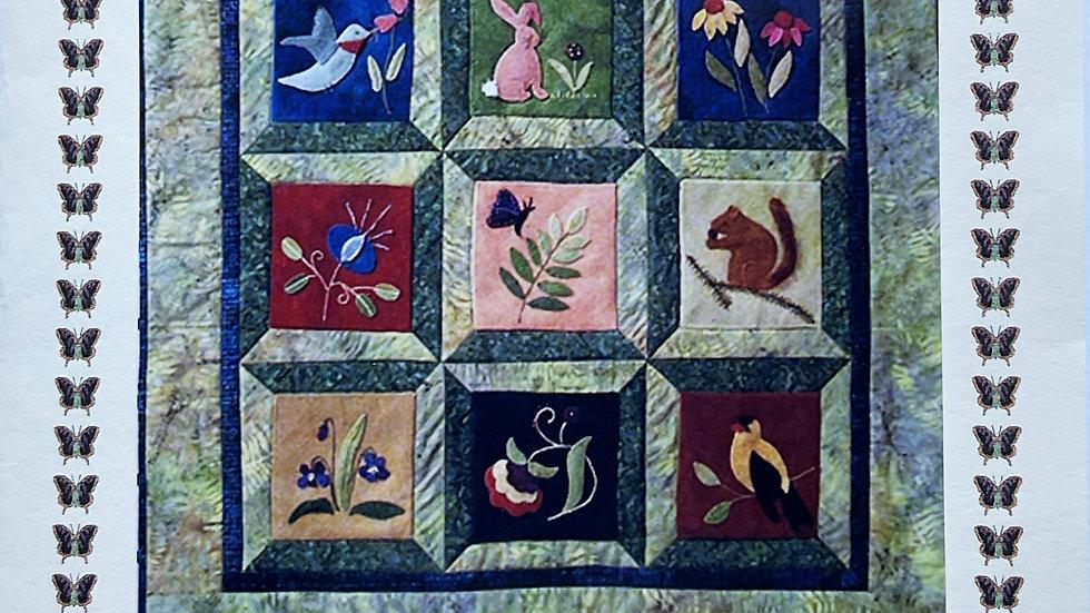 Backyard Friends Pattern