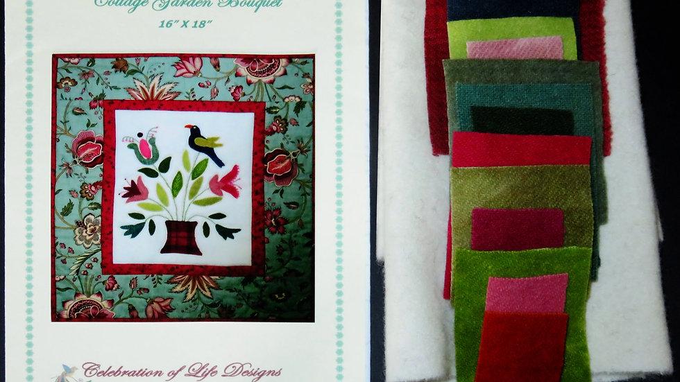 Cottage Garden Bouquet Kit and Pattern