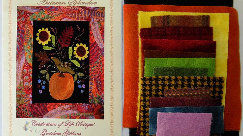 Autumn Splendor Kit w/ Pattern w/o Border