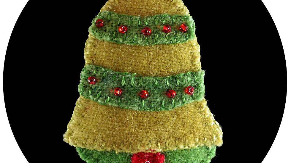 Christmas Bell Ornament Kit with Pattern