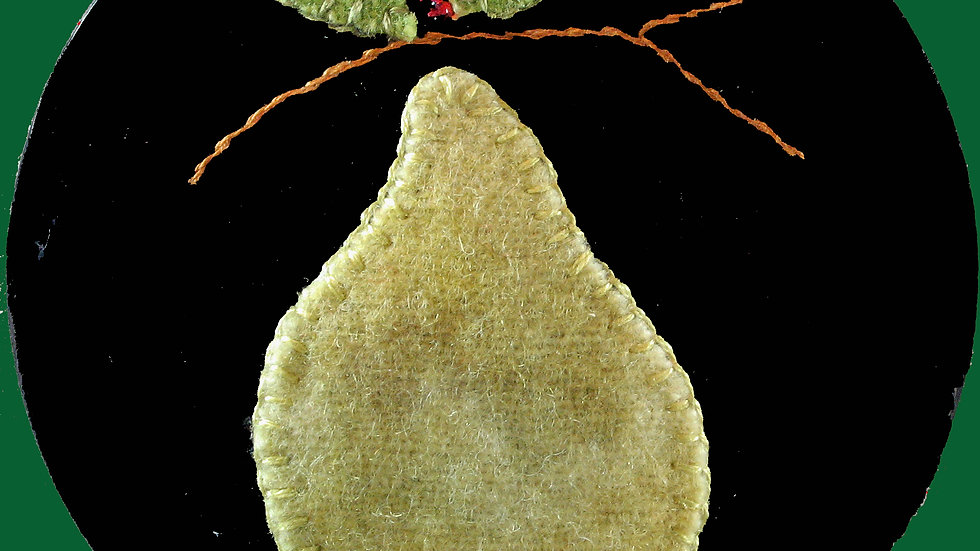 Pear Ornament Kit with Pattern