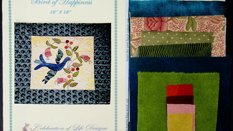 Bird of Happiness Kit and Pattern