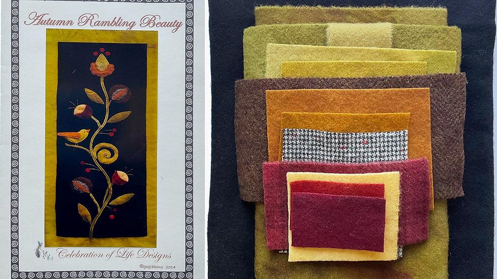 Autumn Rambling Beauty Kit with Pattern