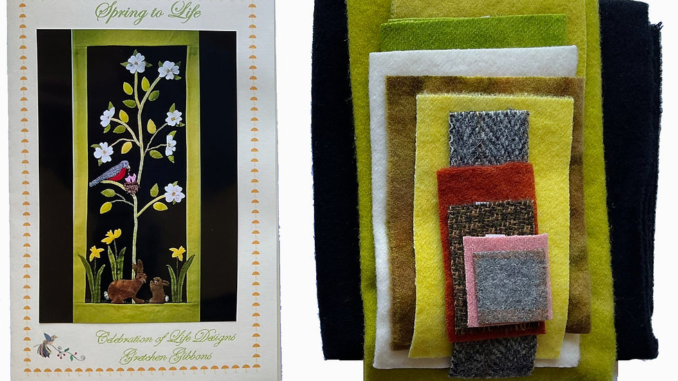 Spring To Life Kit with Pattern