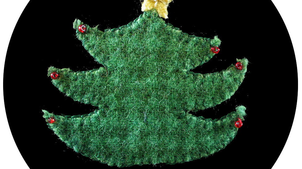 Christmas Tree Ornament Kit with Pattern