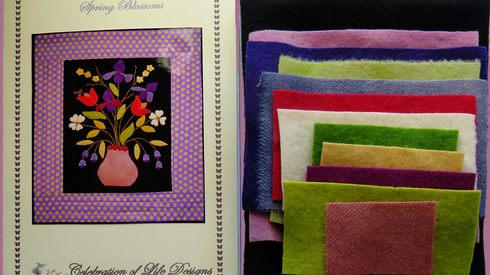 Spring Blossoms Pattern Kit w/ Pattern