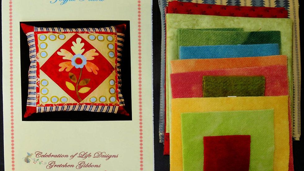 Joyful Pillow Kit and Pattern