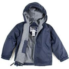 STRONG ROCK NYLON HOODED JACKET