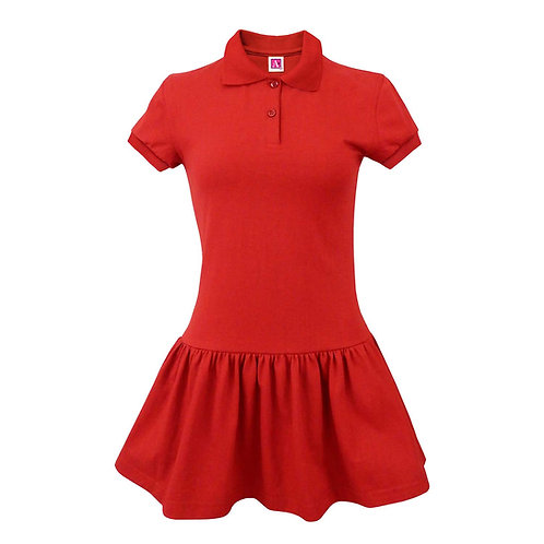 COWETA CHARTER S/S KNIT DRESS (K-2nd Grade Only)