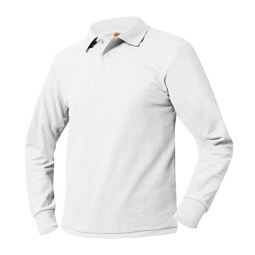 Strong Rock Long Sleeve Knit Polo