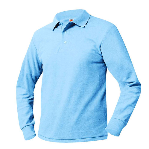 GRADES 6TH - 8TH ONLY LIBERTY TECH L/S POLO SHIRTS