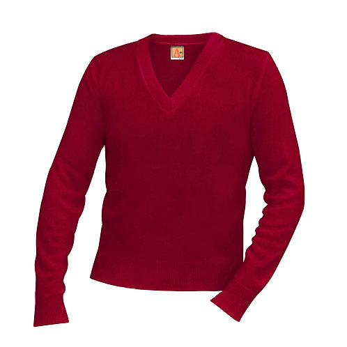 OLM V-NECK SWEATER PULLOVER