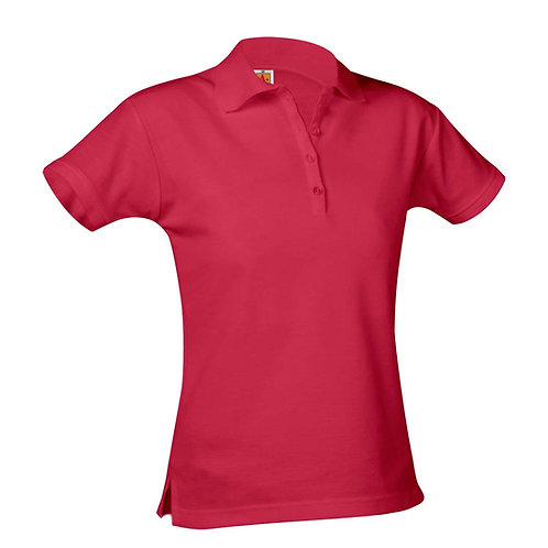 GIRLS CUT MAINSTREET S/S POLO'S