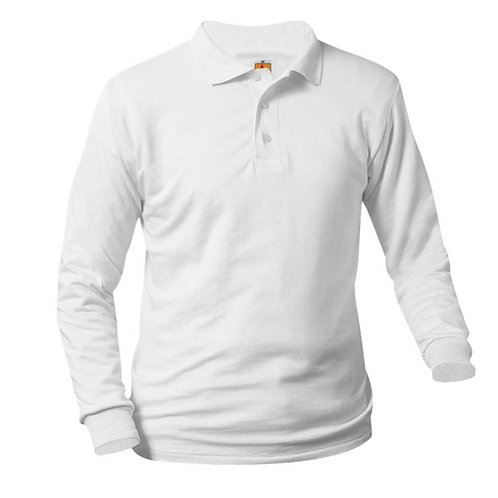 OLV SMOOTH L/S POLO'S