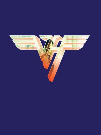 Dave-at-Desk-inside-Van-Halen-logo-color