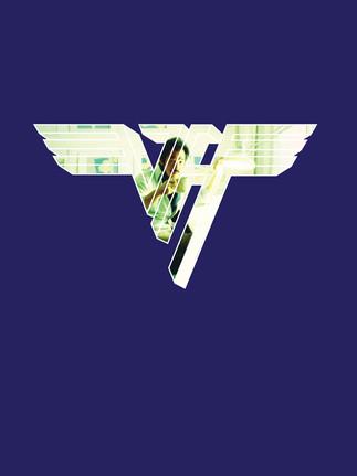 Dave-at-Desk-inside-Van-Halen-logo-1000p