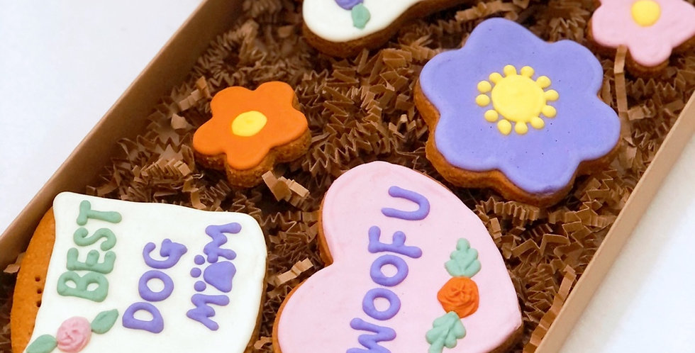 Woof-Mom Day Cookie Set