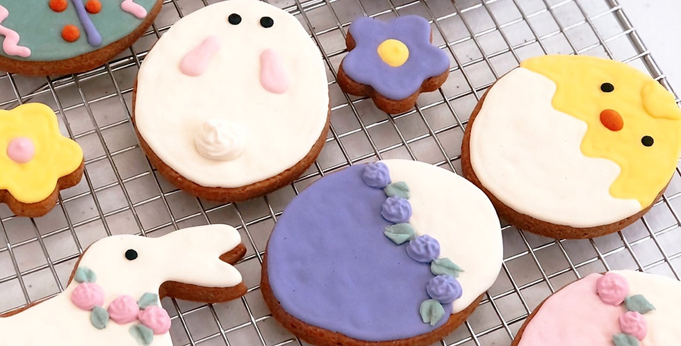 Dog cookies, easter, spring, healthy, gluten free