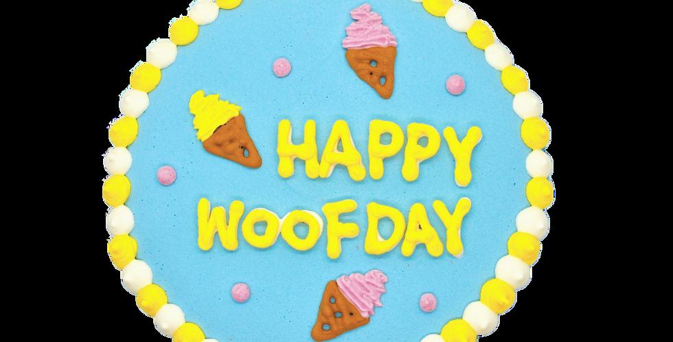 Woof-Scream Cake