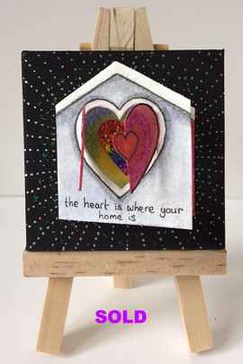 The hearts is where the home is