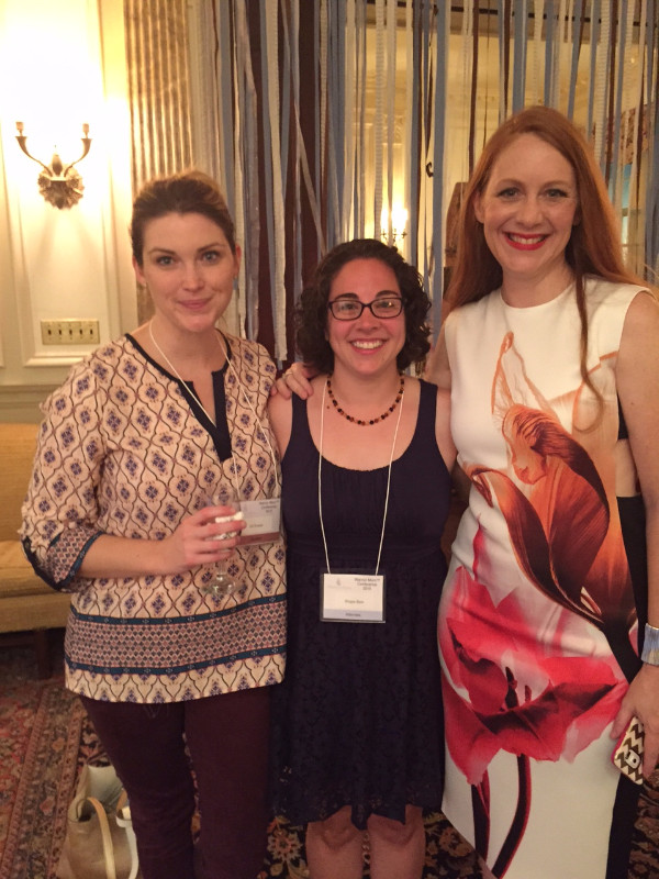 Jill Krause of Baby Rabies, Me, Katherine Stone of Postpartum Progress