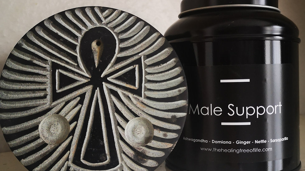 MALE HEALTH Herbal Tea - 100g - Supports sperm health and promotes fertility