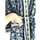 Thumbnail: Robe / kimono  - Border Block Print / Beach Wear + bag + mask