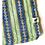 Thumbnail: Bandana - Block Print Jewel Stripes Cotton/ Table Napkin