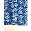 Thumbnail: Bandana - Block Print Indigo Trident Cotton/ Table Napkin