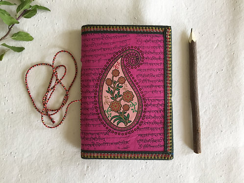 Paisley Art, Indian Journal, Sister Gift, Mother Gift, Wife Gift, Daughter Gift