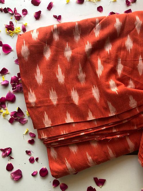 copy of Ikat Woven fabric, Indian Cotton, Boho Fabric, Ikat fabric, Folk weave,