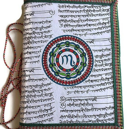 Handmade Paper Journal - Scorpio Astrological Zodiac Gift