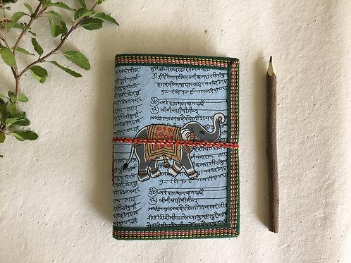 Indian Elephant Journal, Art Journal, Junk Journal, Mens Journal, Guy Gift