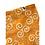 Thumbnail: Bandana - Block Print mustard yellow white Cotton/ Napkin