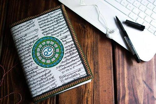 Handmade Paper Journal - Cancer Astrological Zodiac XL