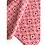 Thumbnail: Bandana - Block Print Pink white  jaal Cotton/Napkin