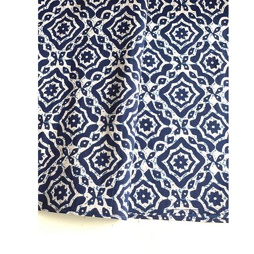 Bandana - Hand Block Printed Cotton / Hair Scarf / Headband