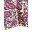 Thumbnail: Bandana - Gray pink Paisley Block  Printed Cotton / Headband