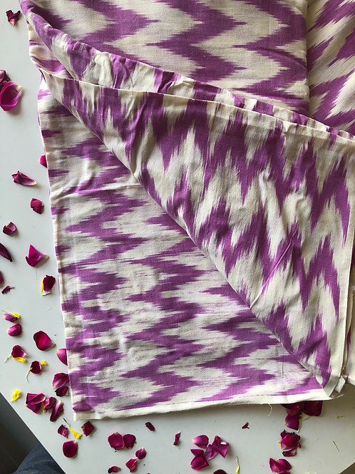 Ikat Woven fabric, Indian Cotton, Boho Fabric, Ikat fabric, Folk weave, Original