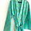 Thumbnail: Robe / kimono  - Hand Block Pineapple Printed Mulmul Cotton Robe